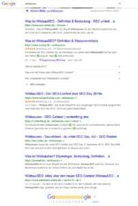 WildsauSEO Live Rankings